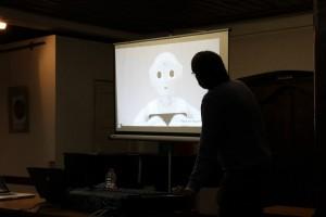 Роботчето NAO. Снимка: Център за творческо обучение